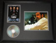 Martin Scorsese Signed Framed Goodfellas 16x20 Photo & DVD Display AW