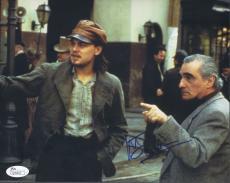 Martin Scorsese Signed 'gangs Of New York' 8x10 Photo Autograph Jsa Coa