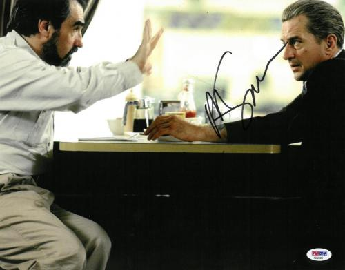 Martin Scorsese Signed Goodfellas Autographed 11x14 Photo PSA/DNA #AD59660