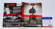 Martin Scorsese Signed Raging Bull Dvd Cover Psa Coa Q60573