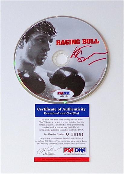 Martin Scorsese Signed Raging Bull Dvd Psa Coa Q56184