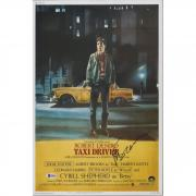 """Martin Scorsese Taxi Driver Autographed 12"""" x 18"""" Movie Poster - BAS"""