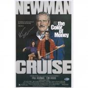 """Martin Scorsese The Color of Money Autographed 12"""" x 18"""" Movie Poster - BAS"""