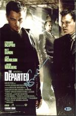 Martin Scorsese The Departed Signed 11x17 Photo BAS #B38829