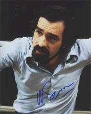 MARTIN SCORSESE Young Autographed Signed 8x10 Photo Certified Authentic PSA/DNA