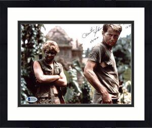 Martin Sheen Apocalypse Now A.N. 1979 Signed 8x10 Photo BAS #C63204