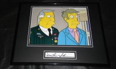 Martin Sheen Signed Framed 11x14 Photo Display The Simpsons