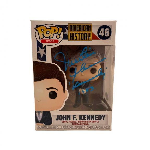Martin Sheen Signed Funko POP American History John F. Kennedy Autographed JSA C