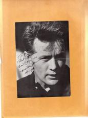 Martin Sheen-signed post card-16