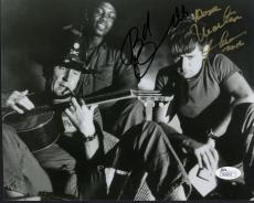 MARTIN SHEEN+ROBERT DUVALL SIGNED 8x10 PHOTO    APOCALYPSE NOW    TO DAVE    JSA