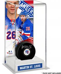 Martin St. Louis New York Rangers Deluxe Tall Hockey Puck Case
