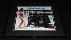 Martine Beswick Signed Framed 8x10 Photo AW James Bond Thunderball