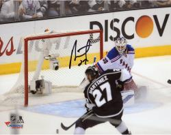 Alec Martinez Los Angeles Kings 2014 Stanley Cup Champions Autographed 8'' x 10'' Stanley Cup Winning Shot Photograph - Mounted Memories