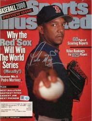 Pedro Martinez Boston Red Sox Autographed Sports Illustrated Why the Red Sox Magazine