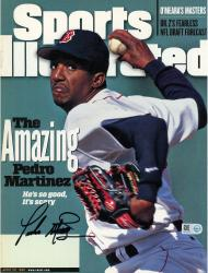 Pedro Martinez Boston Red Sox Autographed Sports Illustrated Amazing Pedro Magazine