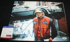 MARTY MCFLY Michael J Fox signed 11 x 14, Back to the Future,Teen Wolf, PSA/DNA