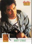 "MARTY STUART (COUNTRY MUSIC SINGER) Hits Include ""HILBILLY ROCK"" and ""WESTERN GIRLS"" Signed 1993 STERLING CARD"
