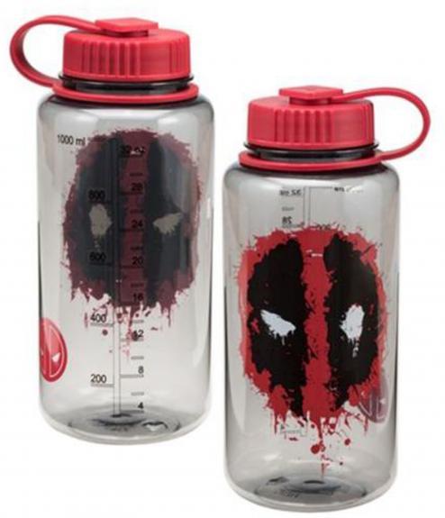 Marvel Deadpool 32 oz. Tritan Water Bottle