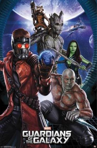 Marvel Guardians of the Galaxy 23×34 Movie Poster