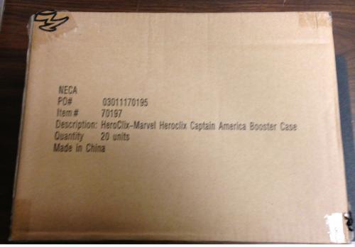 Marvel Heroclix Captain America Booster Case Brand New! (20 Packs)