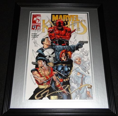 Marvel Knights #1 Punisher Framed Cover Photo Poster 11x14 Official Repro