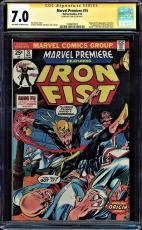 Marvel Premiere #15 Cgc 7.0 Oww Ss Stan Lee Iron Fist And Origin #1508493012