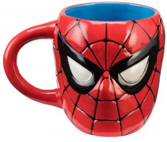 Marvel Spider-Man 20 oz. Ceramic Sculpted Mug