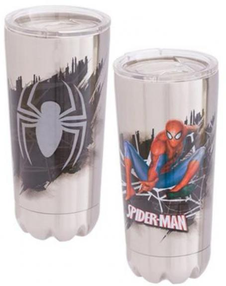 Marvel Spider-Man 20 oz. Stainless Steel Vacuum Tumbler