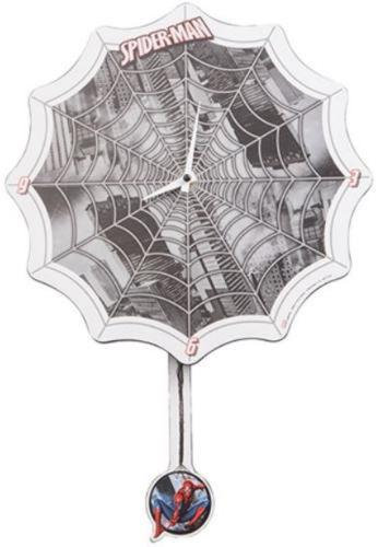 Marvel Spider-Man Shaped Deco Clock