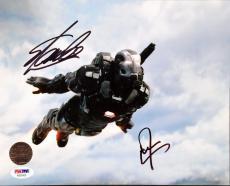 Marvel Stan Lee Don Cheadle IM Signed 8x10 Photo PSA AB35420