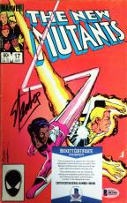 Marvel Stan Lee Signed The New Mutants 7/17/84 Comic Book BAS B81981