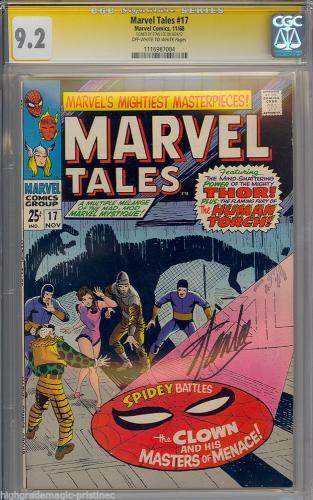Marvel Tales #17 Gcg 9.2 Oww Ss Stan Lee Single Highest Graded #1116987004