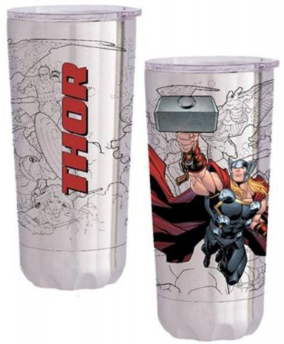 Marvel Thor 20 oz. Stainless Steel Vacuum Tumbler