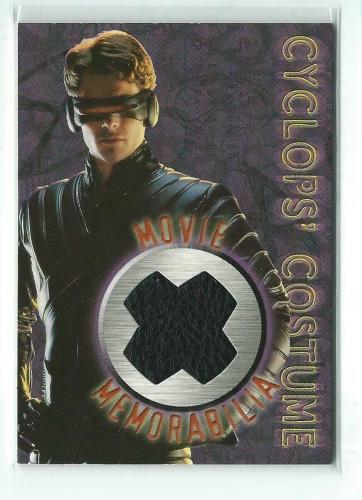 Marvel X-Men 2000 Topps Cyclpos' Costume Movie Memorabilia Card