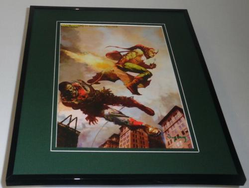 Marvel Zombies #4 Framed 11x14 Poster Display Spider-Man Green Goblin