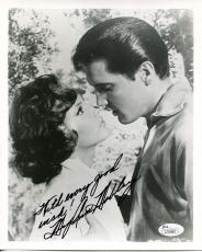 MARY ANN MOBLEY HAND SIGNED 8x10 PHOTO      AWESOME POSE   ELVIS PRESLEY   JSA