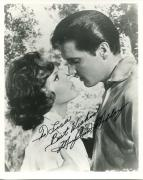 MARY ANN MOBLEY HAND SIGNED 8x10 PHOTO+COA       FACE TO FACE WITH ELVIS PRESLEY