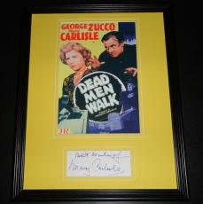 Mary Carlisle Signed Framed 11x14 Photo Display  Dead Men Walk