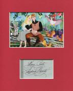 Mary Costa Voice Sleeping Beauty Disney Voice Signed Autograph Photo Display