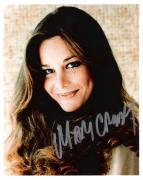 """MARY CROSBY - Best Known for Her Role as KRISTIN SHEPARD in TV Series """"DALLAS"""" Signed 8x10 Color Photo"""