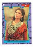 Mary Elizabeth Mastrantonio autographed Robin Hood card Sticker #4 Maid Marian