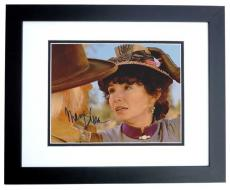 Mary Steenburgen Autographed BACK TO THE FUTURE III 8x10 Photo BLACK CUSTOM FRAME