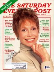 "Mary Tyler Moore Authentic Autographed Signed Magazine ""To Stan"" Beckett BAS"
