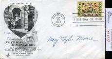 Mary Tyler Moore Jsa Coa Hand Signed Fdc Authenticated Autograph