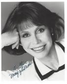 """MARY TYLER MOORE Well Known as MARY RICHARDS in """"THE MARY TYLER MOORE SHOW"""" Inscribed to a Fan (Passed Away 2017) Signed 8x10 B/W Photo"""