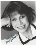 "MARY TYLER MOORE Well Known as MARY RICHARDS in ""THE MARY TYLER MOORE SHOW"" Inscribed to a Fan (Passed Away 2017) Signed 8x10 B/W Photo"