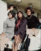 MARY WILSON HAND SIGNED 8x10 COLOR PHOTO+COA     DIANA ROSS+SUPREMES    TO STEVE
