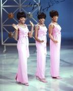 MARY WILSON HAND SIGNED 8x10 COLOR PHOTO+COA       THE SUPREMES     TO BOB