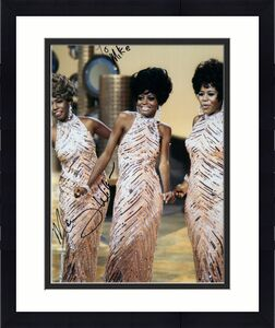 MARY WILSON HAND SIGNED 8x10 COLOR PHOTO+COA       THE SUPREMES     TO MIKE