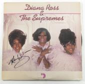 Mary Wilson Signed 3-Record Set Album Diana Ross & The Supremes w/ AUTO